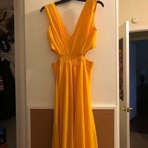 Yellow dress - Size S